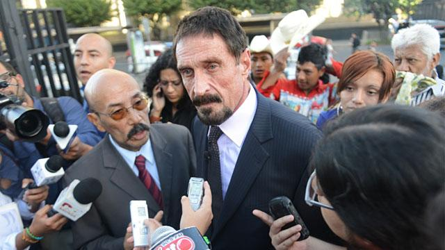 Guatemala Scheduled to Deport McAfee Back to Belize