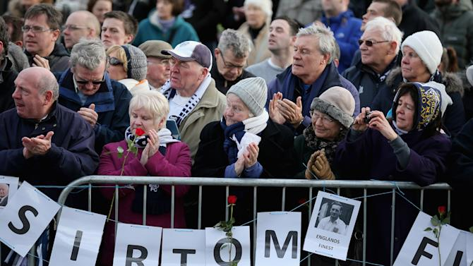 Funeral Of Preston North End And England Former Footballer Sir Tom Finney