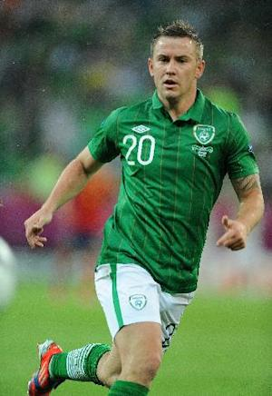 Simon Cox is eyeing revenge when Ireland take on Germany in 2013