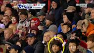 Min Ho captured during a soccer match in England
