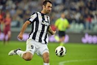 Juventus forward Mirko Vucinic during their Seria A match against Roma on September 29. Juve fans will expect to see their side sit atop the group come Tuesday night after tackling Shakhtar Donetsk in Turin