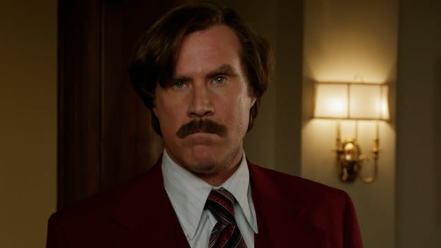 'Anchorman 2: The Legend Continues: No Joke Cut' Clip: Me or the Job