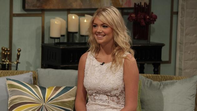 Kate Upton visits Access Hollywood Live on February 21, 2012 -- Access Hollywood