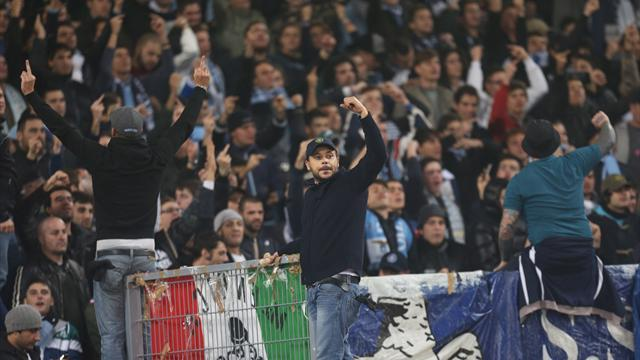 Europa League - Lazio fined for racism, Spurs for disturbances