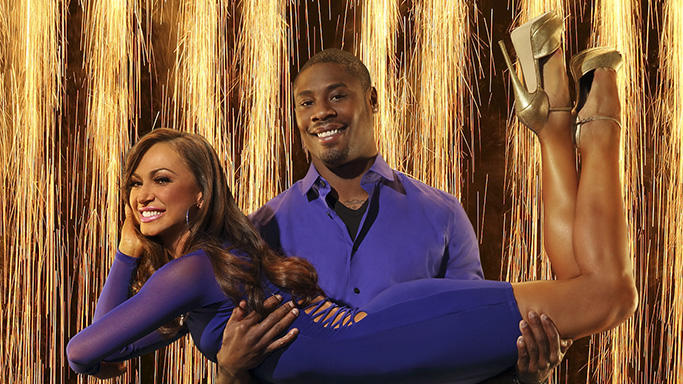 """Dancing with the Stars"" Season 16 KARINA SMIRNOFF, JACOBY JONES"