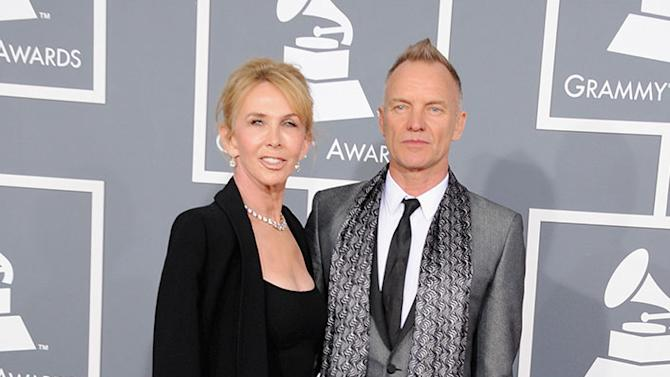 The 55th Annual GRAMMY Awards - Arrivals: Trudie Styler and Sting