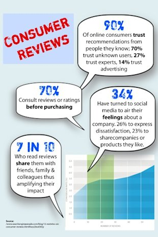 How Consumer Reviews Affect Online Business image consumer reviews infographic 1 400x600