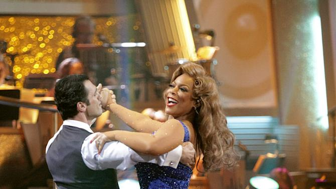 """Wendy Williams and Tony Dovolani perform on """"Dancing with the Stars."""""""