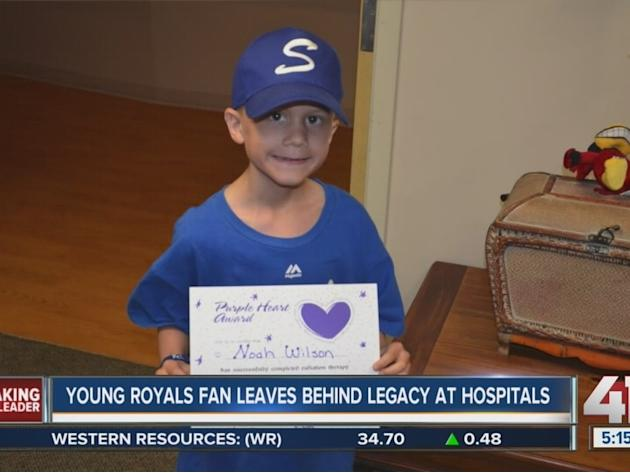Young Royals fan leaves behind legacy at hospitals