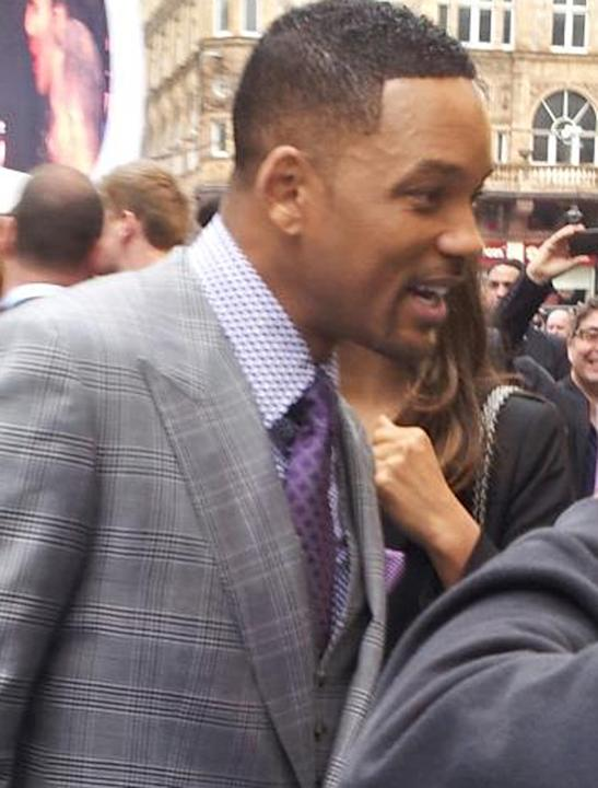 Celebrity photos: Will Smith shook our hand, yes he touched our digits, and then we struggled to concentrate on what he was saying.