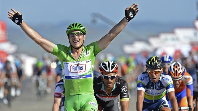 Degenkolb sprints to fourth win on Vuelta