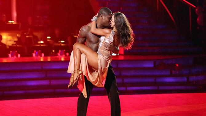 Jacoby Jones and Karina Smirnoff (4/1/13)