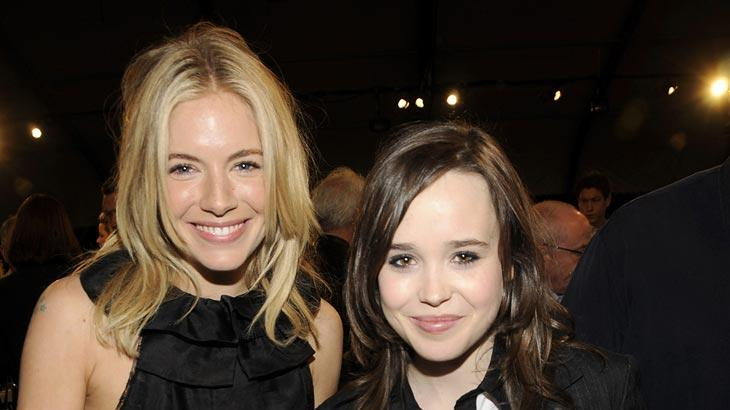 Independent Spirit Awards 2008 Sienna Miller Ellen Page