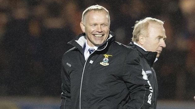 John Hughes registered his first win as Inverness boss in his second match in charge