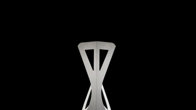 Folditure's Cricket table and Leaf chair, space-saving wonders