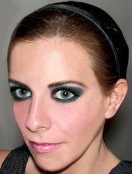 Nontraditional Smokey Eyes