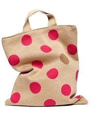 pink dot bag polka