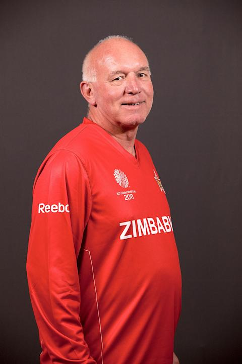 2011 ICC World Cup - Zimbabwe Portrait Session
