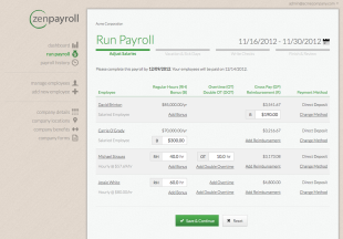 ZenPayroll Review – Peace Of Mind For Payroll Processing And Taxes image 91057 1408052790