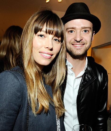Justin Timberlake, Jessica Biel Hang With Amy Adams, Fiance Darren LeGallo Before Grammys Weekend: Pictures