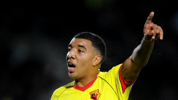 Troy Deeney has been given a route back into football by Watford