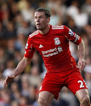 Jamie Carragher made his 700th appearance for Liverpool on Thursday