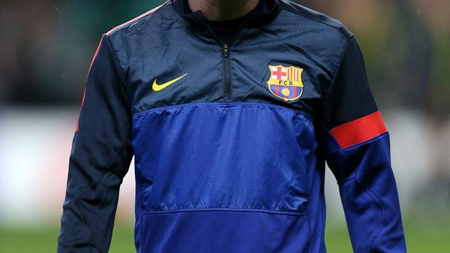 Football - New Barca deal for Messi