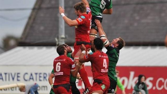 RaboDirect Pro12 - Scarlets win attritional battle with Munster