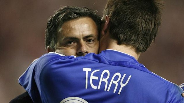 Jose Mourinho, John Terry (Reuters)