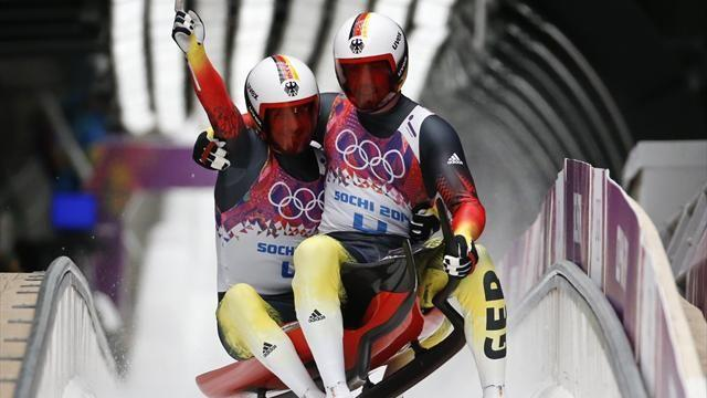 Luge - Germany's Wendl and Arlt win doubles gold