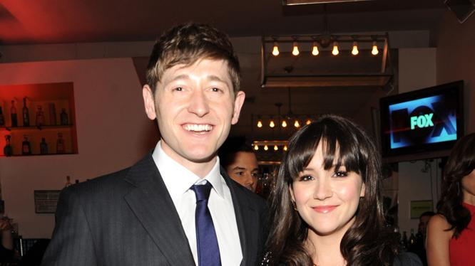 Lucas Neff and Shannon Woodward