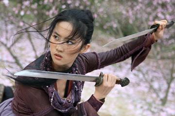 Liu Yifei in Lionsgate Films' The Forbidden Kingdom