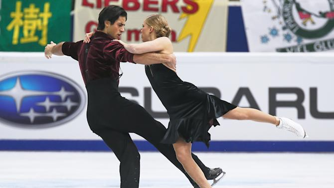 Rostelecom Cup ISU Grand Prix of Figure Skating 2013 - Day Two