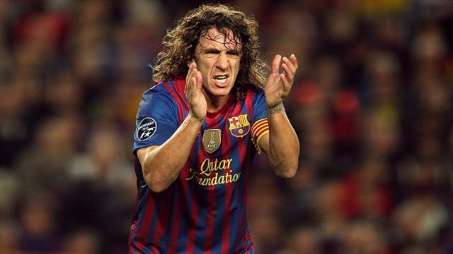 Liga - Puyol 'unlikely to make Spain World Cup squad'