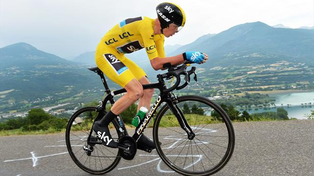 Tour de France - Relentless Froome wins stage 17 time trial