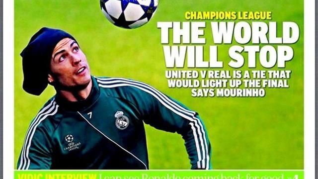 Champions League - Paper Round: The world will stop