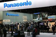 Attendees walk through the Panasonic booth during the 2013 International CES at the Las Vegas Convention Center on January 8, 2013 in Las Vegas, Nevada. Panasonic used CES to show its new Viera smart television which can recognize users and create a home screen allow programming tailored for each