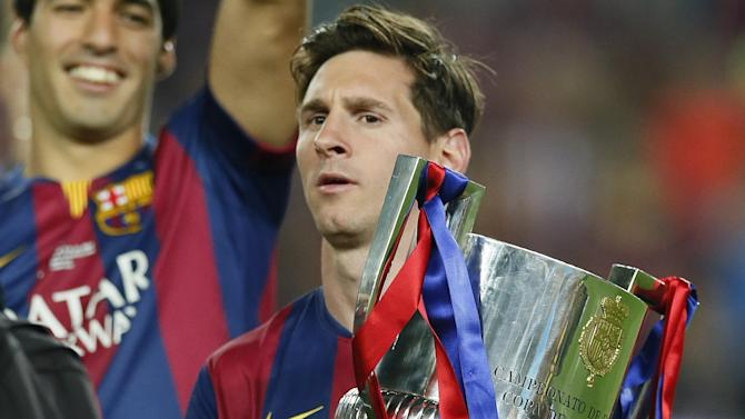 Liga - Lionel Messi: I want to repay Barcelona with Champions League win