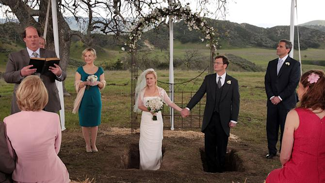 """TV Weddings - Angela Martin and Dwight Schrute: """"The Office"""" (2013)"""