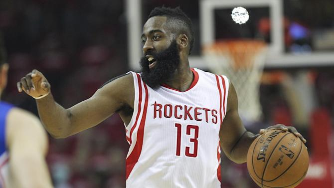 Basketball - Rockets rally past Clippers to tie series at 1-1