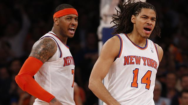 Basketball - Knicks avoid elimination with win over Pacers