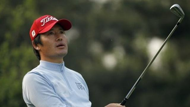 Golf - Choi survives nervous wait to win in Jakarta