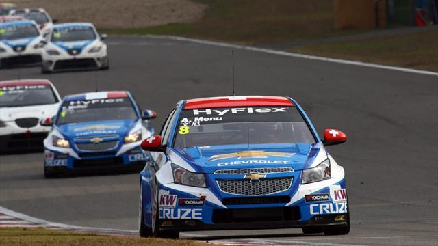 WTCC - Chevrolets take command in second Shanghai practice