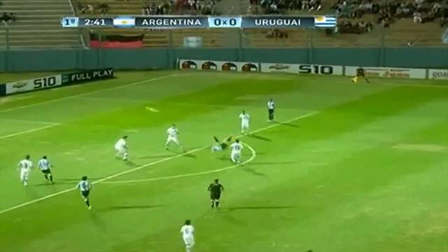 South American Football - Argentine U17s spark fight after 3-3 draw with Uruguay