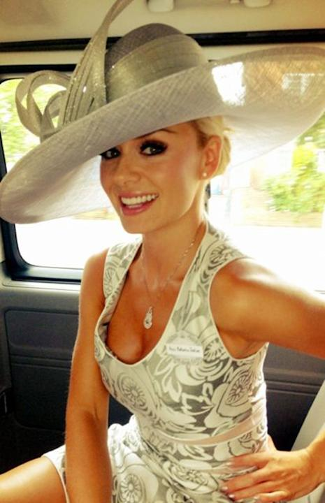 Celebrity photos: No one does sophisticated glamour quite like Katherine Jenkins, and she proved it during a trip to Ascot. The singer tweeted this picture of her outfit and we were girl crushing ever