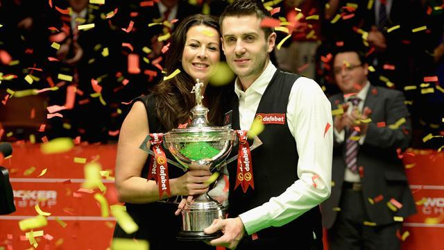 Snooker - Selby delivers tactical masterclass to overcome O'Sullivan in Crucible final