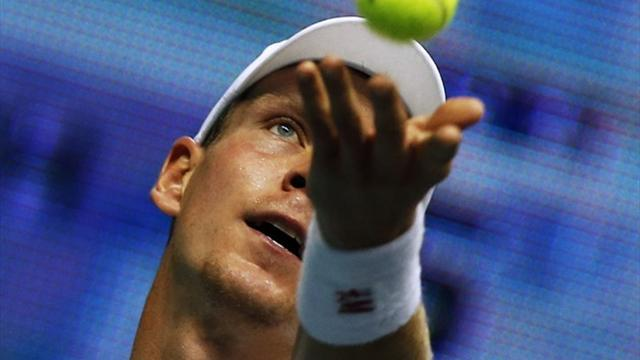 Tennis - Berdych, Cilic move into Rotterdam final