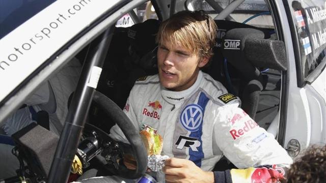 Sweden Rally - Mikkelsen leads Rally Sweden