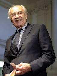 Head of the Vatican bank Ettore Gotti Tedeschi in Rome on September 28, 2010. The Vatican named a German financier as the new head of its scandal-hit bank, saying he would help overhaul the secretive institution to comply with anti-money laundering rules