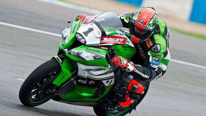 Superbikes - Donington WSBK: Sykes back on top after race one win